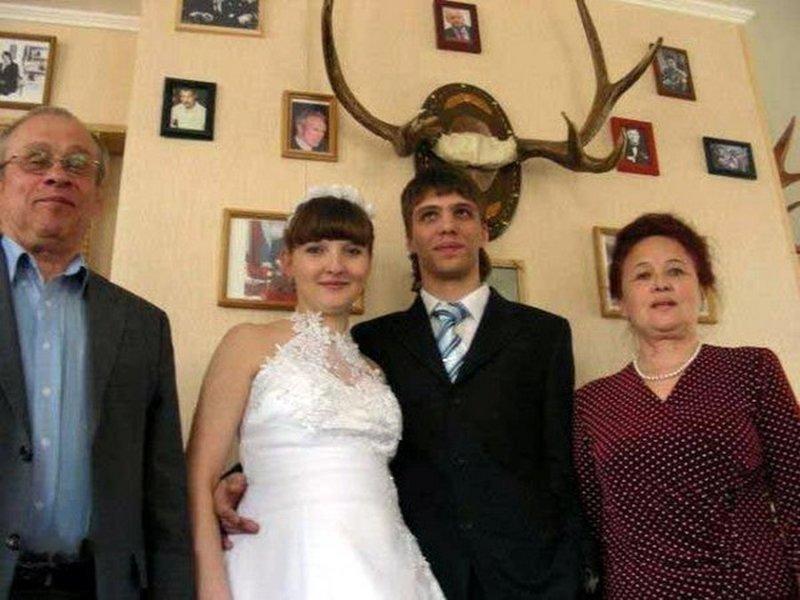 Фотограф знал невесту и двух ее бывших мужей!