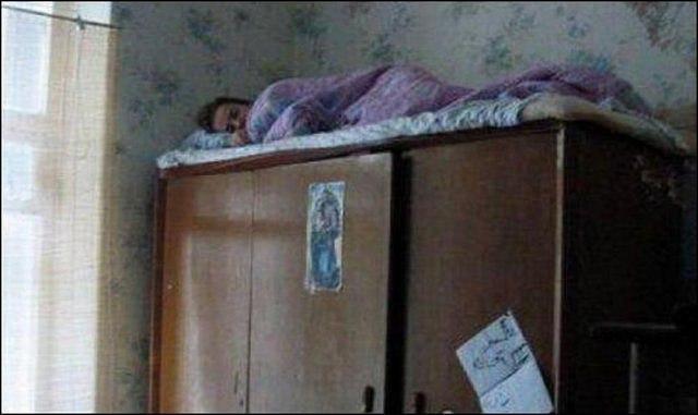 Мама спит, ее достали